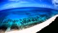 ドローン映像:来間島の長間浜の空撮 43086039