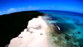 ドローン映像:来間島の長間浜の空撮 43086040