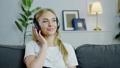 female, headphones, lifestyle 43142379
