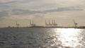 大阪湾日落风景天空覆盖海山夏天风景蓝天自然晴朗的船大阪大阪 43277194