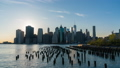 Timelapse video of Manhattan skyline 43286569