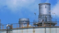Closeup Refinery Plant With Cloud 43298051