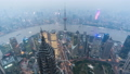 Timelapse video of Shanghai from day to night 43305387