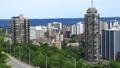 Timelapse Hamilton expressway with city center 43379023