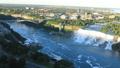 Aerial timelapse American Falls and Rainbow Bridge 43379042