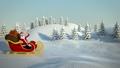 santa, christmas, sleigh 43483851