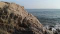 캘리포니아 말리부의 바다와 아치 록 공중 촬영 영상 43601325