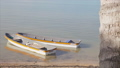 Scenic boat shot in the coast 43617486