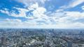 東京ワイド・地平線を望むタイムラプス・六本木より品川 横浜方面望む 背景に最適です ティルトアップ 43626919