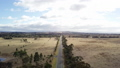 aerial view of vast expansive Australian country. 43629318