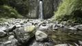 鹿目の滝(雄滝)と鹿目川の流れ 43635948