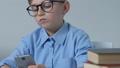 boy, kid, smartphone 43664179