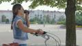 自転車 女 女の人の動画 43700009