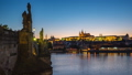 Timelapse of Prague old town with Charles Bridge 43711713