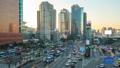Traffic in Seoul city street in South Korea 43711715