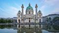 Timelapse of Karlskiche Church in Vienna, Austria 43711720
