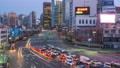 Traffic in Seoul city street in South Korea 43711721
