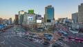 Traffic in Seoul city street in South Korea 43711722