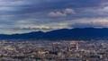 京都市視圖timelapse日落視圖 43742668