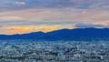 京都塔視圖timelapse日落視圖 43742670