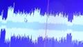 Active wave spectrum display on digital monitor 43793574