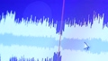 Active wave spectrum display on digital monitor 43793576