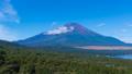 8K・富士山・タイムラプス・夏山・山中湖 パノラマ台より 高精細 8K RAWよりトリム パン 43839695