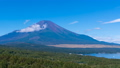 8K・富士山・タイムラプス・夏山・山中湖 パノラマ台より 高精細 8K,RAWよりトリム ナロー 43839697