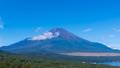 8K・富士山・タイムラプス・夏山・山中湖 パノラマ台より 高精細 8K,RAWよりトリム ズームアウ 43839698