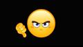 Dislike emoticon animation 43853122