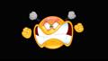 Furious emoticon animation 43853124