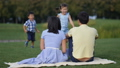 family,embracing,park 43864116