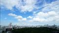 东京宽延时,市中心区域的全景,市区的大天空市中心视图 43899804