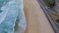 An aerial view of Bondi beaches shoreline 43907693