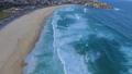 Flying above the ocean in Bondi Beach 43907707