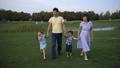 family, park, walking 43913807