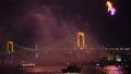 東京·煙花盛會·東京鐵塔和彩虹橋(彩虹燈亮起·年終限定)相機運動 43934265