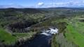 폭포, 산, 강 43950888