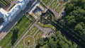 Flight over Petrodvorets Palace in Peterhof Park 44058030