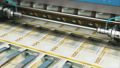 Printing 100 DK Danish krona money banknotes 44129725