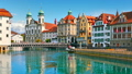 Old Town architecture of Lucerne, Switzerland 44129733