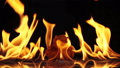 chicken fast food on fire slow motion  44147541