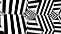 Black and white stripes. Computer generated abstract background, 3D render 44201768