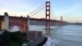Golden Gate Bridge on sky background in San Francisco 44241991