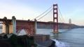 Golden Gate Bridge on sky background in San Francisco 44241992