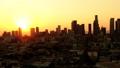 洛杉矶街市日落空中录影 44244962