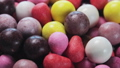 chewing gum of different colors 44256633