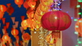 Chinese new year lanterns,text mean have happiness 44260788