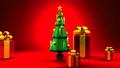 Christmas tree and gift boxes 44284631