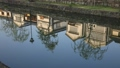 kurashikigawa, row of old houses, river surface 44318723